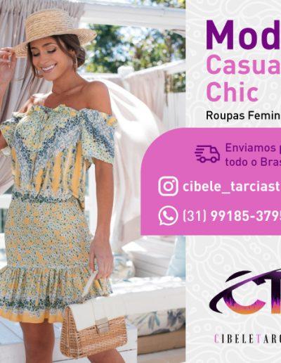 Criação de card para a Cibele Tarcia Store